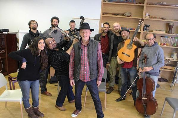 <p>Catalunyan tour with  Barcelona Gipsy and Klezmer Orchestra.<br>Foto: arhiv V. K.</p>