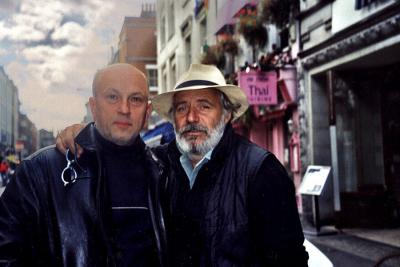 <p>Vlado pa Rade Šerbedžija, London, 11. september 2001</p>